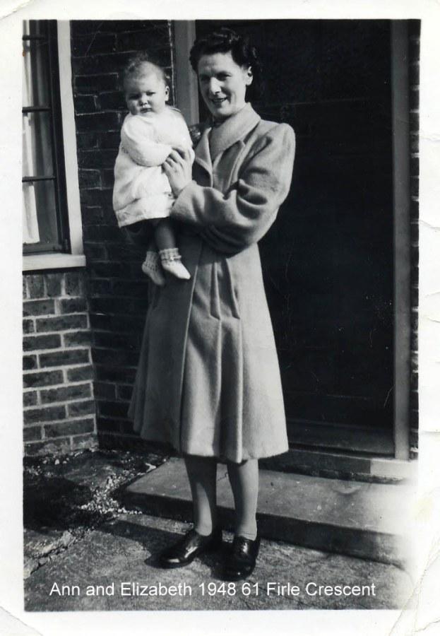 Lewes, Nevill, Ann Kilborn and Elizabeth 1948