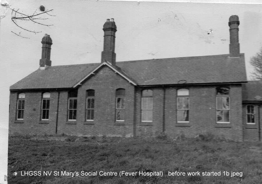 Lewes, Nevill Fever Hospital before became Social Centre