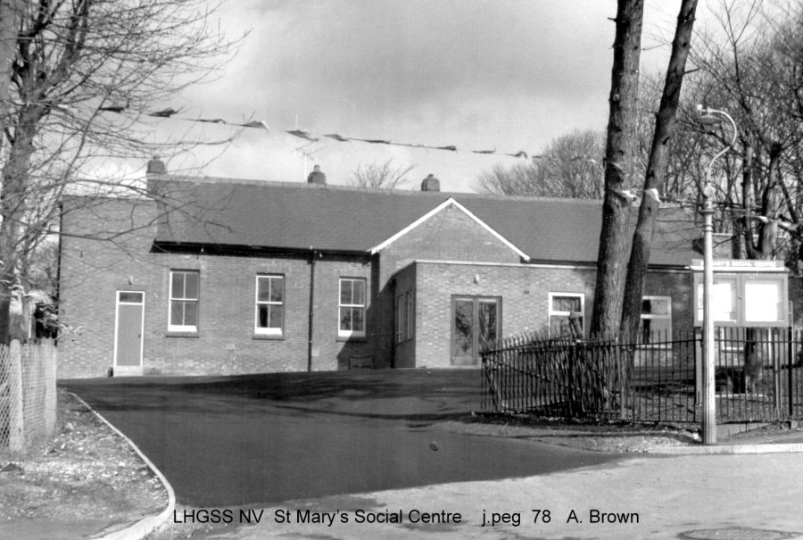 Lewes, Nevill St Mary's Social Centre