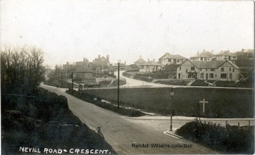 Nevill Road & Crescent (Rendel Williams collection)