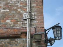 Malling House John Spence downpipe