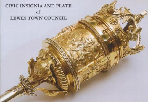 Civic Insignia and Plate of Lewes Town Council, 2011, by Micheal Turner and Michael Chartier, book cover