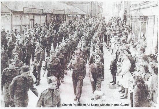 Church Parade to All Saints