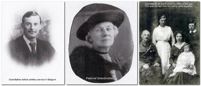 Paternal grandparents and family
