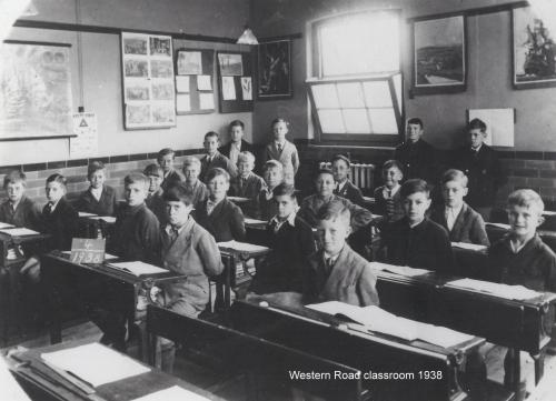 Western Road classroom 1938