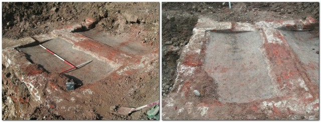 North Street, House of Correction, Lewes, excavation, concave floors