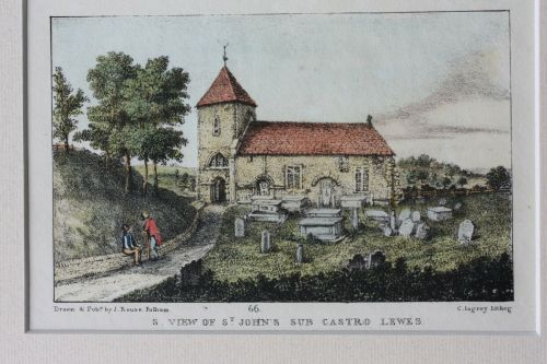 St John-sub-Castro Church, Lewes, James Rouse