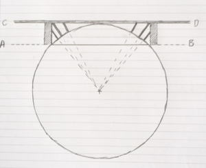 Thomas Paine bridge design based on chord of a circle