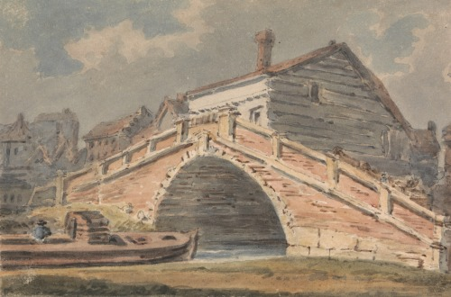 Lewes Bridge by Alexander Monro