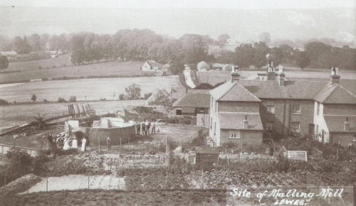 Malling Mill remains 1908