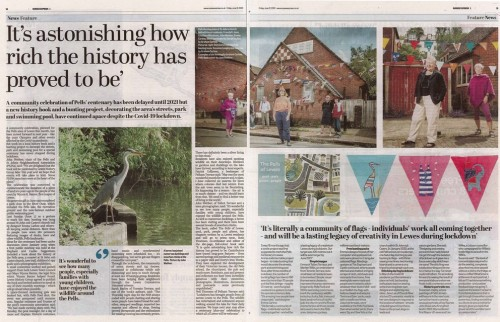 Pells Centenary, Sussex Express 12 June 2020 p14-15