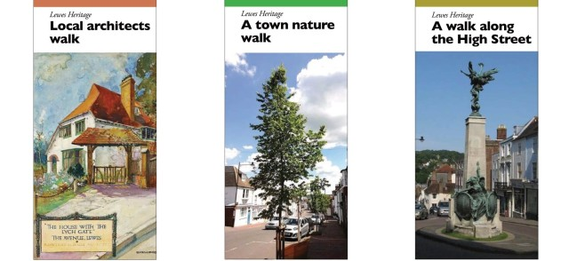 Friends of Lewes Heritage Open Days 2020 walk leaflets