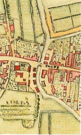James Lamber Plan of Lewes 1788, extract