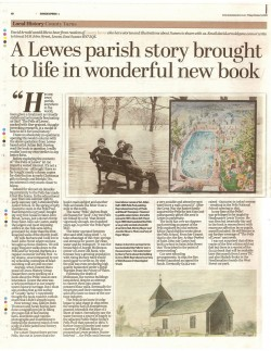 Pells of Lewes, D. Arnold review, Sussex Express 9.10.20 p40