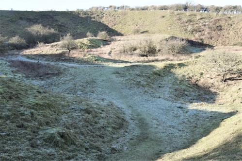 Main Bridgewick Pit, Lewes, 2020