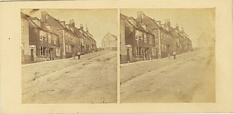 St Anne's, Lewes, Victorian stereo view