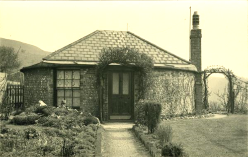 Bungalow ex South Malling Mill, 1940 photograph