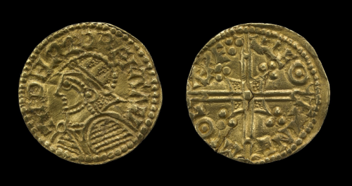 Gold coin produced in Lewes 978-1013