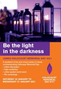 Lewes Holocaust Memorial Day poster