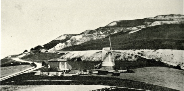 Malling Mill and Mill House, Lewes, c.1860