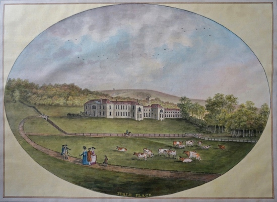 Firle Place, by Lambert Jnr 1786