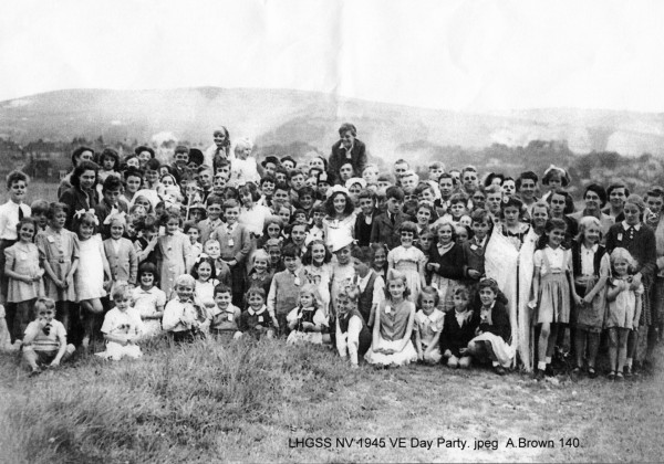 Nevill VE Day Party 1945