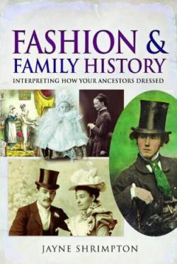 Fashion and Family History, by Jayne Shrimpton, book cover