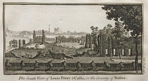 Lewes priory in Newbury 1769