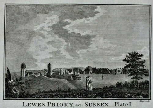 Lewes Priory Plate I, Boswell 1786
