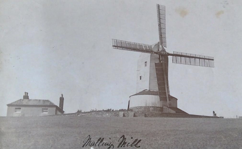 Malling Mill and Mill House, Lewes, James Cheetham