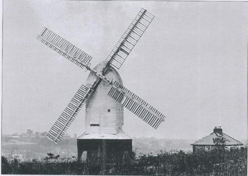 Southern Post Mill and Rosery Mill Cottage
