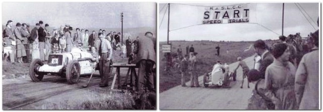 Speed on the Downs, 1935, 1936