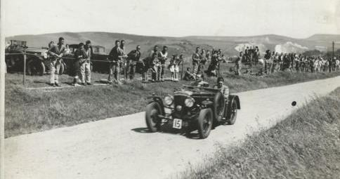 Speed Trials on Downs, a 1938 competitor