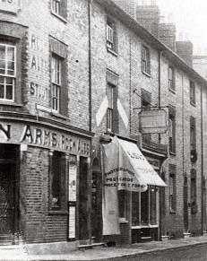 Photographer's studio next to Lansdown Arms, Lewes
